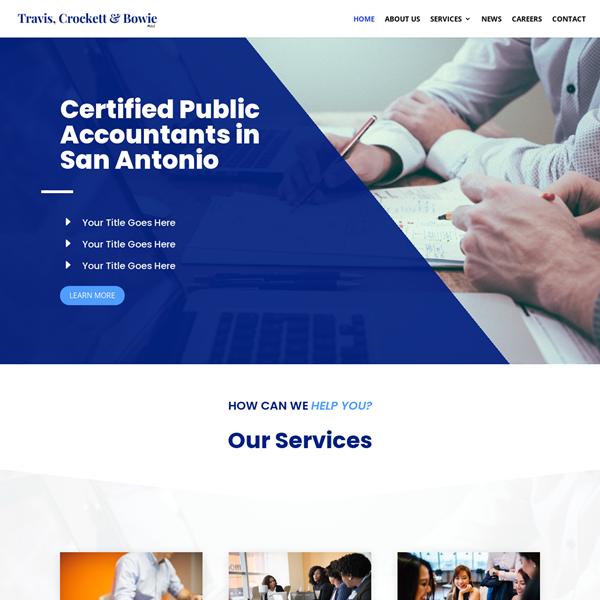 Website for Accountants